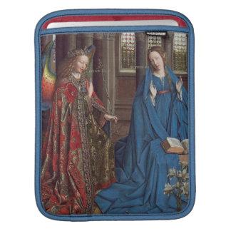 The Annunciation, c. 1434- 36 (oil on canvas) iPad Sleeve