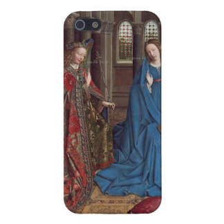 The Annunciation, c. 1434- 36 (oil on canvas) iPhone 5 Case