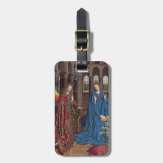 The Annunciation, c. 1434- 36 (oil on canvas) Luggage Tag