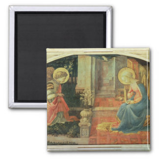 The Annunciation, c.1450-3 Square Magnet