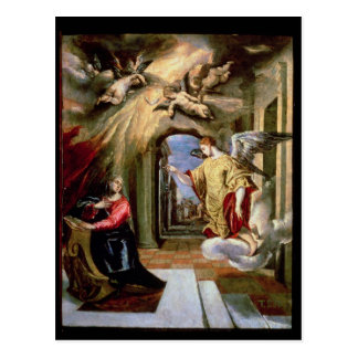 The Annunciation c 1570-73 Postcards