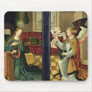 The Annunciation, Cologne School Mouse Mat