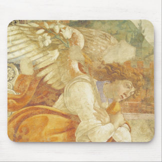 The Annunciation, detail of the Archangel Mouse Pad
