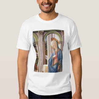 The Annunciation, detail of the Virgin Mary Tshirts