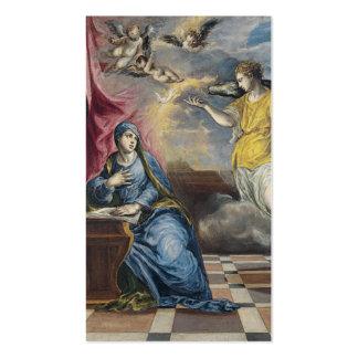 The Annunciation - El Greco Business Cards