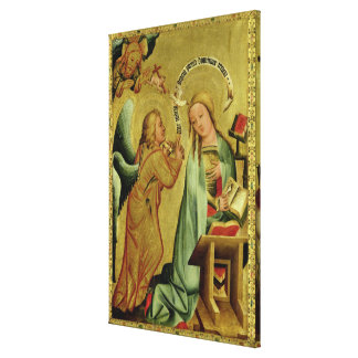 The Annunciation from the High Altar Canvas Print