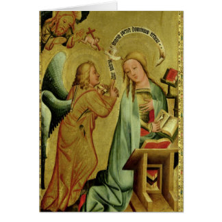 The Annunciation from the High Altar Card