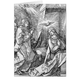 The Annunciation from the 'Small Passion' Card