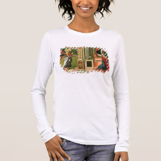 The Annunciation (oil on panel) (detail of 120955) Long Sleeve T-Shirt