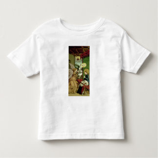The Annunciation (oil on panel) Toddler T-Shirt