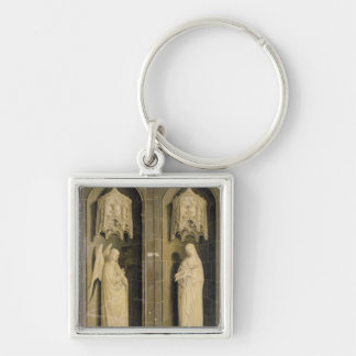 The Annunciation, outer panel from the Triptych Key Ring
