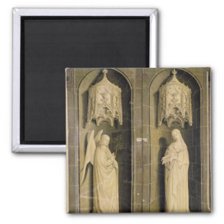 The Annunciation, outer panel from the Triptych Magnet