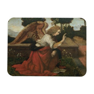 The Annunciation, predella panel from an altarpiec Flexible Magnets