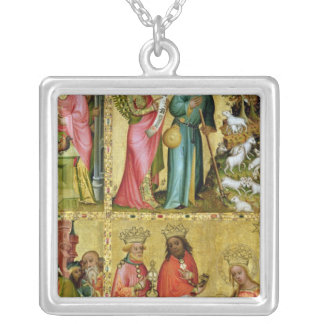 The Annunciation to St. Joachim Silver Plated Necklace