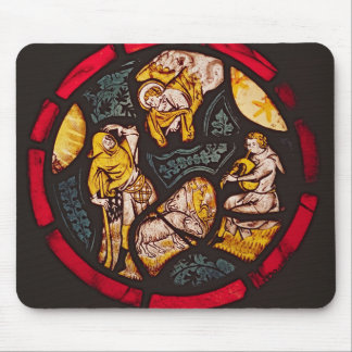 The Annunciation to the Shepherds Mouse Mat