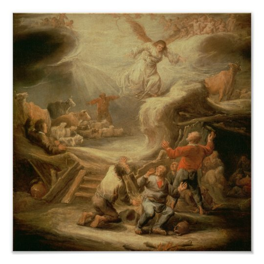 The Annunciation to the Shepherds Poster