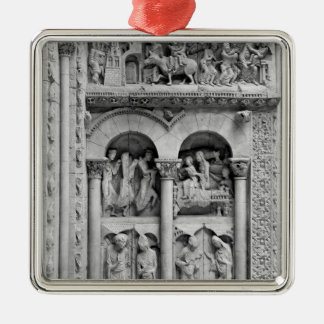 The Annunciation,Visitation, Adoration Magic Christmas Ornament