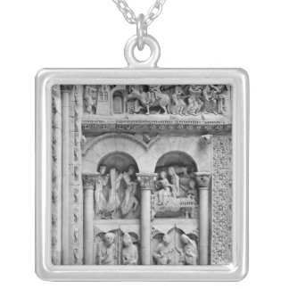 The Annunciation,Visitation, Adoration Magic Silver Plated Necklace