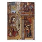 The Annunciation with St. Emidius, 1486 Card
