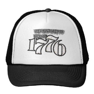 The Answer to 1984 is 1776 Cap