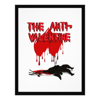 The Anti-Valentine - Cupid s Down Flyers