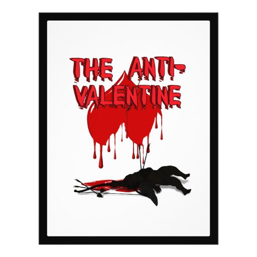 The Anti-Valentine - Cupid's Down Flyers