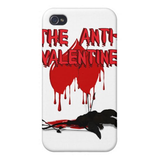 The Anti-Valentine - Cupid's Down iPhone 4 Cover