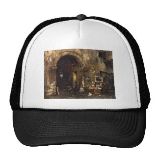 The Antiquary Shop by William Merritt Chase Cap