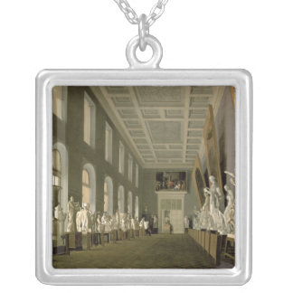 The Antiquities Gallery of Academy of Fine Silver Plated Necklace
