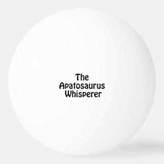 the apatosaurus whisperer