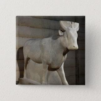 The Apis Bull, from the Serapeum, Memphis 15 Cm Square Badge