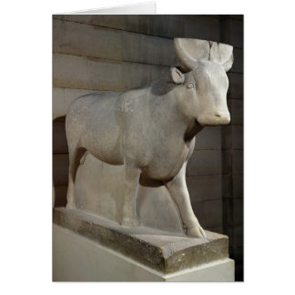 The Apis Bull, from the Serapeum, Memphis Card