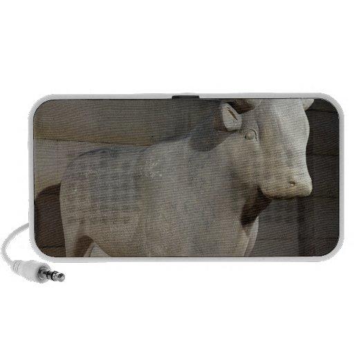 The Apis Bull, from the Serapeum, Memphis iPhone Speakers