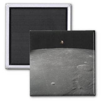 The Apollo 12 lunar module Intrepid Square Magnet