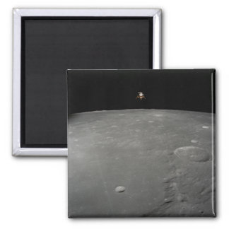 The Apollo 12 lunar module Intrepid Square Magnet