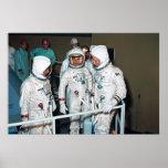 The Apollo 1 Astronauts Poster