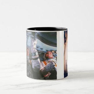 The Apollo 1 Disaster Two-Tone Coffee Mug