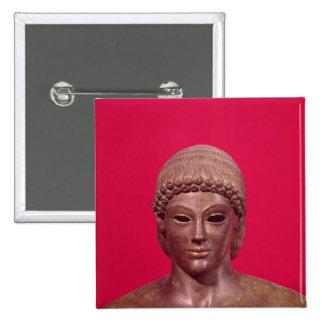 The Apollo of Piombino 15 Cm Square Badge