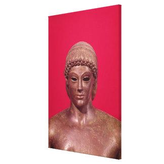 The Apollo of Piombino Canvas Print