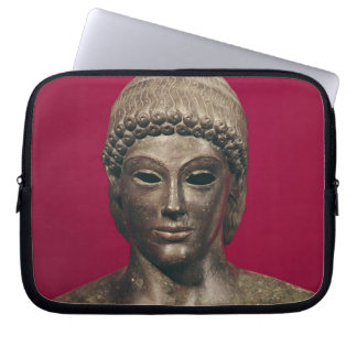 The Apollo of Piombino, head of the statue, found Computer Sleeves