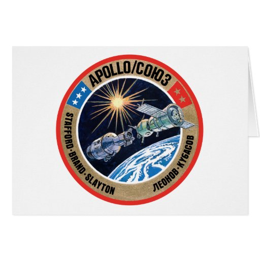The Apollo–Soyuz Test Project (ASTP) Cards