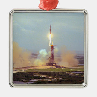 The Apollo Soyuz Test Project Saturn IB Launch Christmas Ornament