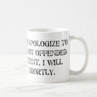 the apology coffee mug
