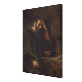 The Apostle Paul, c.1657 (oil on canvas) Gallery Wrap Canvas