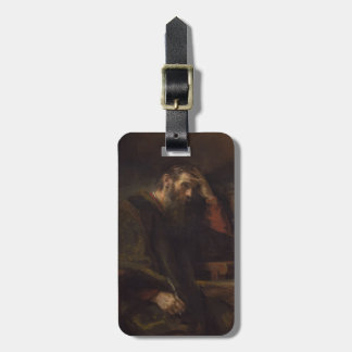 The Apostle Paul, c.1657 (oil on canvas) Luggage Tag