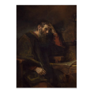 The Apostle Paul, c.1657 (oil on canvas) Poster