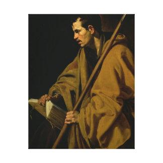 The Apostle St. Thomas, c.1619-20 Gallery Wrap Canvas