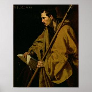 The Apostle St. Thomas, c.1619-20 Poster