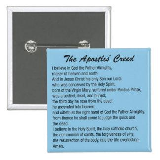 The Apostles Creed button