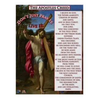 The Apostles Creed Poster